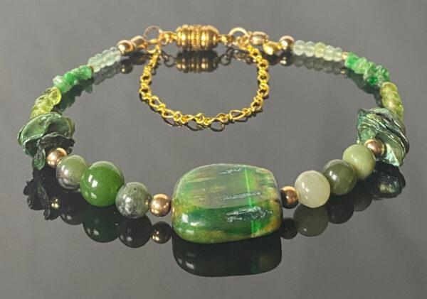 emerald-prehnite