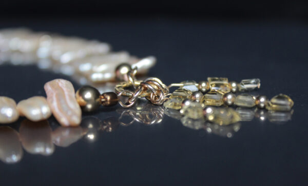 pearl citrine necklace 4
