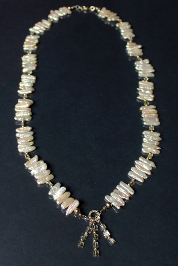 pearl citrine necklace 7