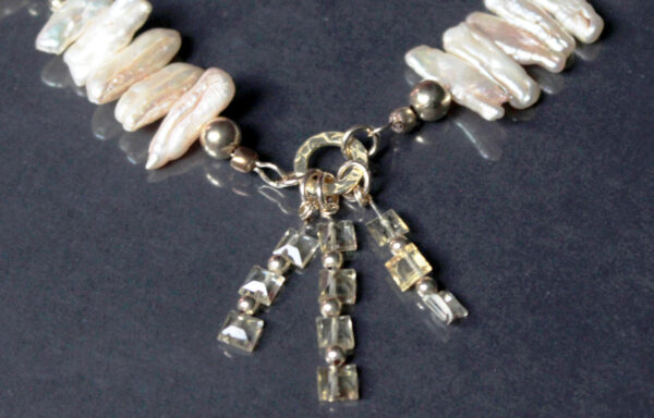 pearl citrine necklace 2