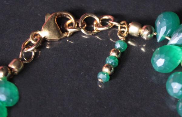 chalcedony onyx bracelet