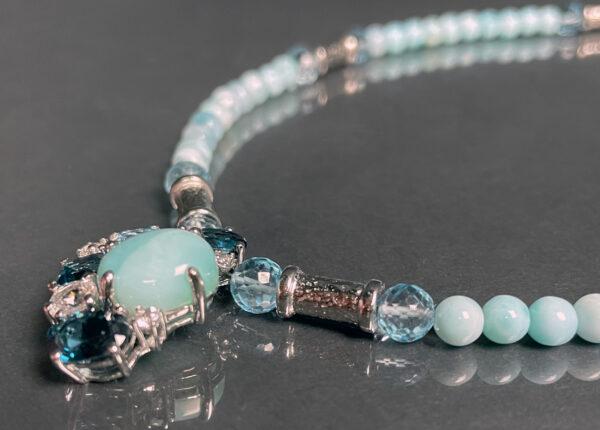 larimar topaz ss necklace 3